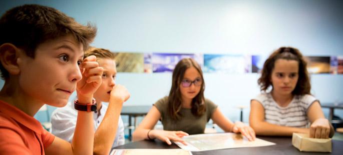 Gestion d'une crise volcanique, atelier pédagogique secondaire