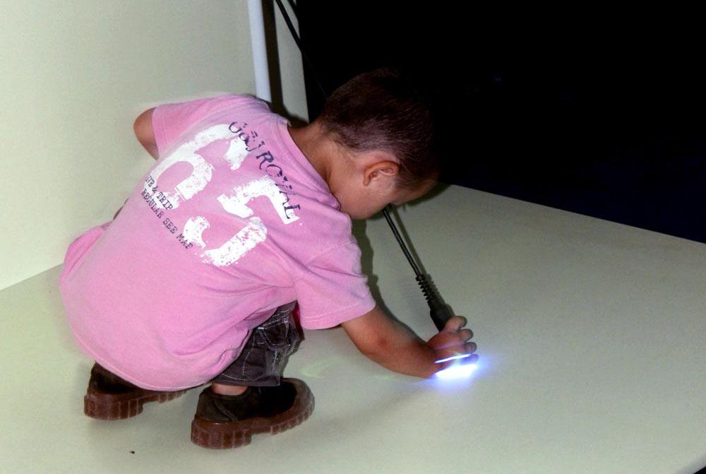 Atelier pédagogique Maternelle, La cité des enfants, je découvre la lumière