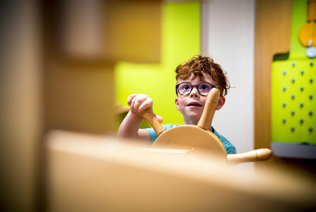 Atelier pédagogique Maternelle, La cité des enfants, je découvre par le mouvement