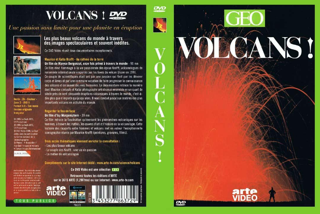 DVD sur les volcans