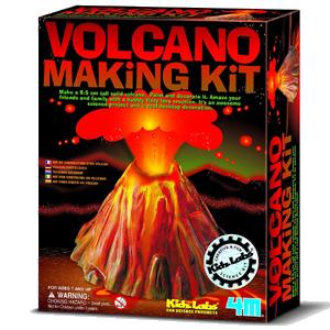 Kit Volcan. Jeux sur les volcans.