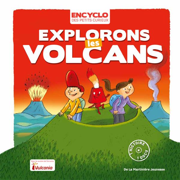 Livre pédagogique sur les volcans