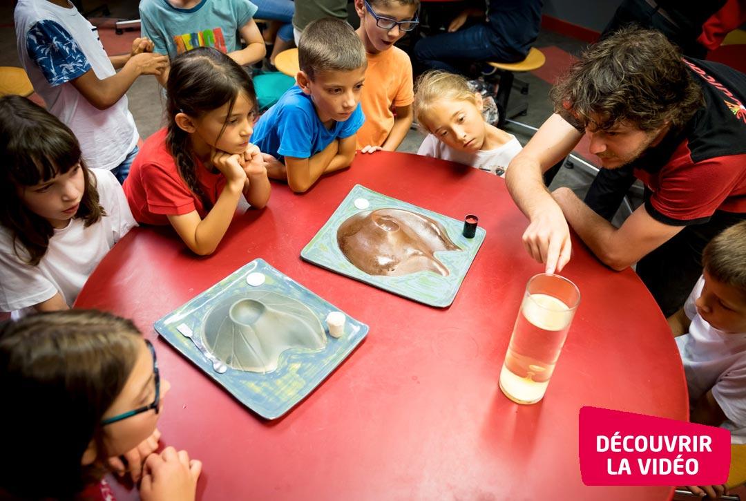 Un volcan comment ça marche ? activité pédagogique pour les primaires