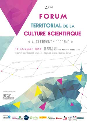 Actualités de Vulcania - Participation au forum territorial de la culture scientifique