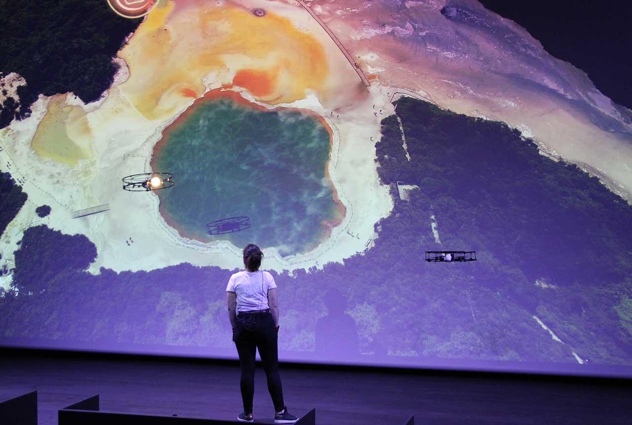 Animation Volcano Drones nouveauté 2019