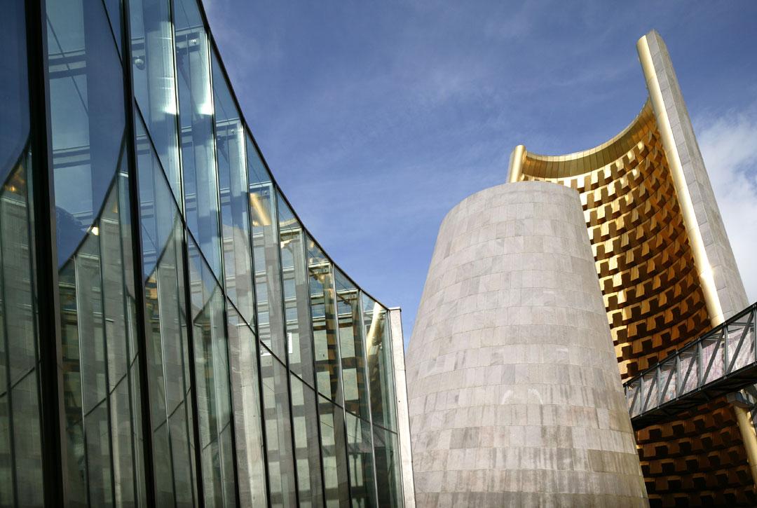le cône de Vulcania à l'architecture insolite