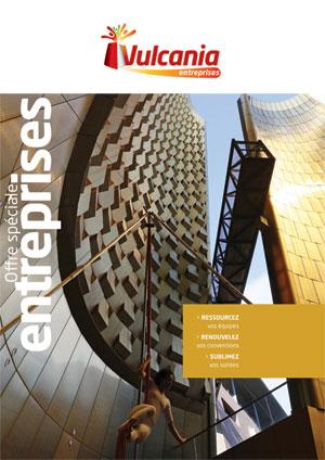 Brochure pour les séminaires, Incentives et soirées d'entreprise