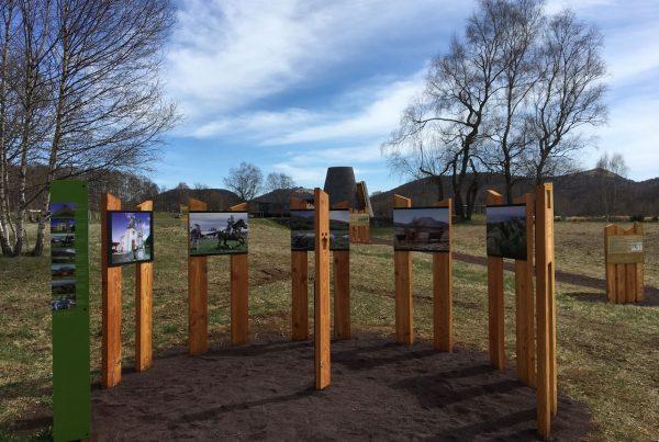 Exposition sur la Chaîne des Puys inscrite au patrimoine mondiale de l'unesco