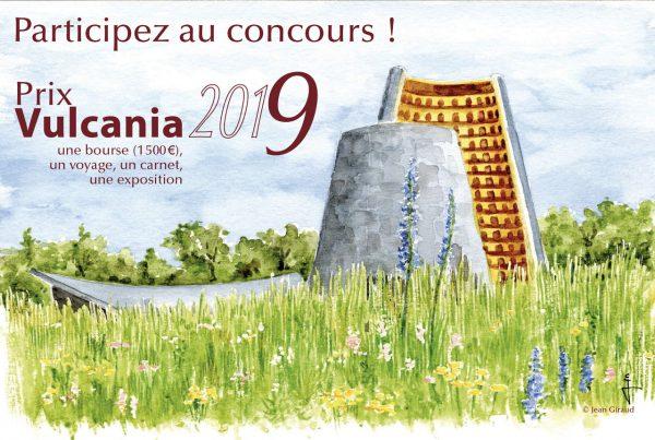 """Concours """"Prix Vulcania"""" du carnet de voyage 2019"""