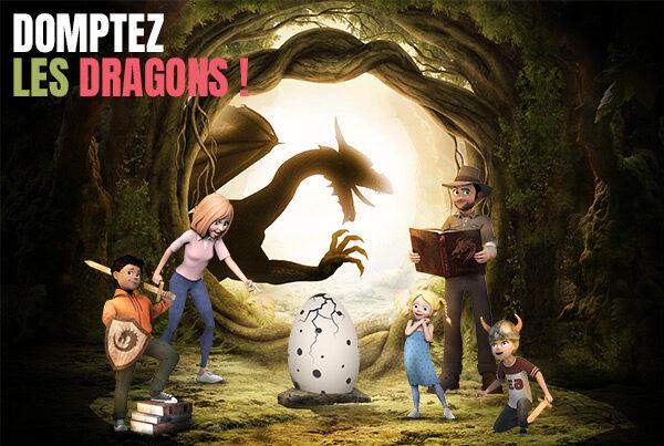 Partez à la recherche des légendes perdues au Parc Vulcania ! Animations spéciales vacances d'automne du 22 octobre au 7 novembre 2021.