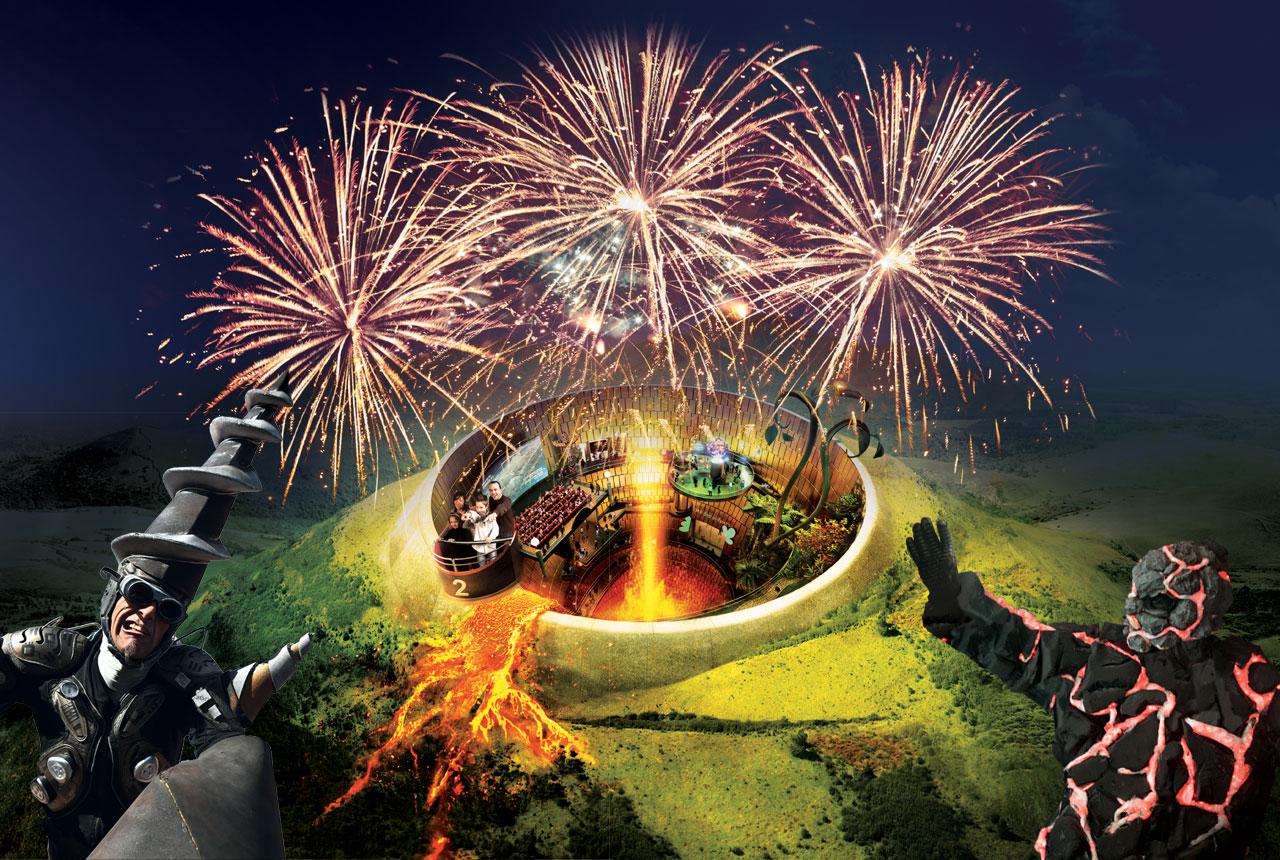 Les soirées de l'été avec spectacles et feu d'artifice