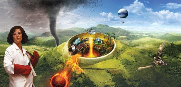 Animation spéciale Défi des volcans