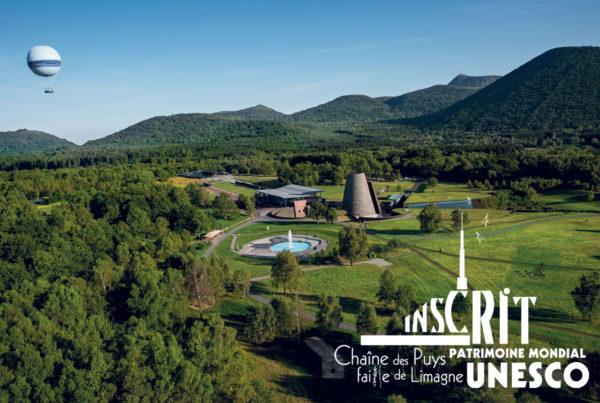 Vulcania au coeur de la Chaîne des puys inscrit à l'UNESCO