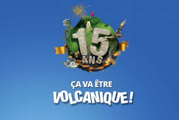 Animations spéciales 15 ans à Vulcania