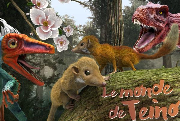 Le monde de Teino, film d'animation sur les dinosaures à Vulcania