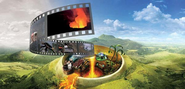 Animation spéciale Ushuaia TV sur les beautés de la Terre