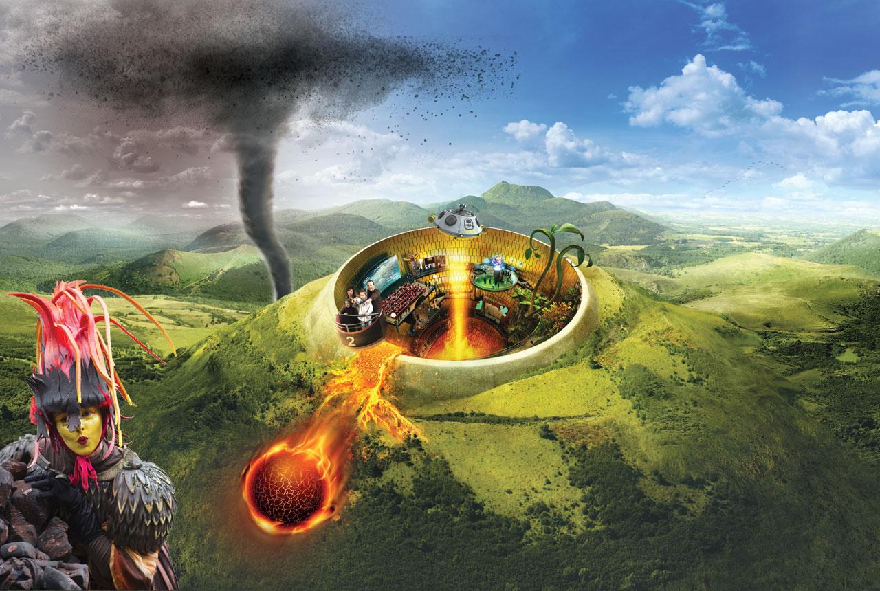 Programme des animations estivales à Vulcania