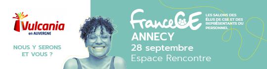 Retrouvez Vulcania au Salon France CE à Annecy le 28 septembre 2021