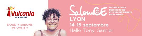 Retrouvez Vulcania au Salon CE à Lyon les 14 & 15 septembre 2021.