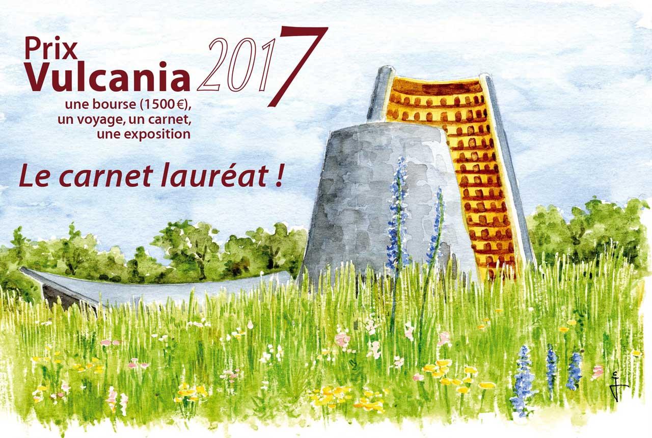 Prix Vulcania du Carnet de Voyages