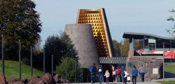 Cone, architecture volcanique à Vulcania