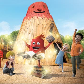 Animations Enfants lors de votre séjour au Parc Vulcania en Auvergne