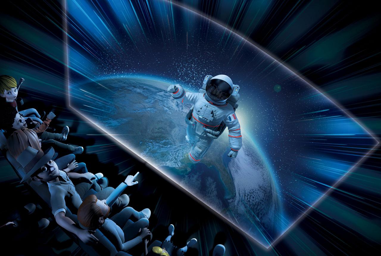 Découverte de l'Espace par l'astronaute français Thomas Pesquet