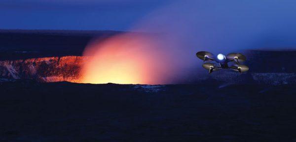 Utilisation des drones au service de la science et du volcanisme