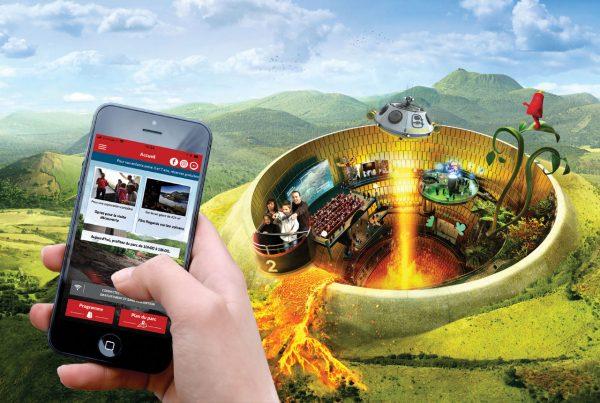 Préparez votre visite avec l'appli mobile du parc