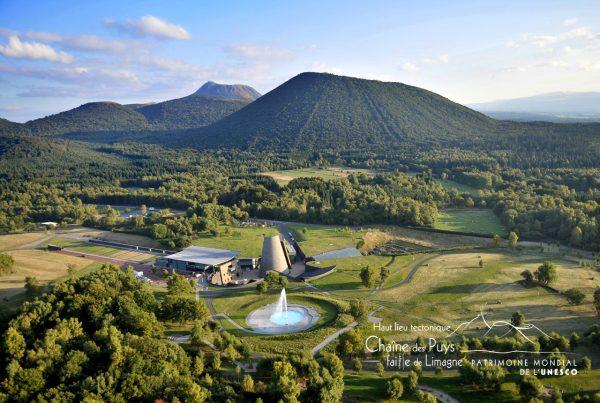 Vulcania au coeur de la Chaîne des puys inscrite à l'UNESCO