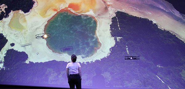 Animation Volcano Drones nouveauté 219