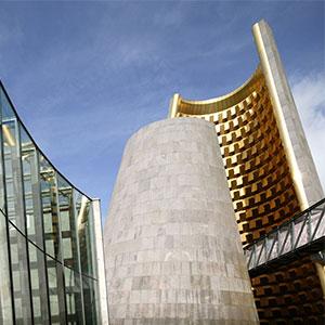 architecture vulcania cône