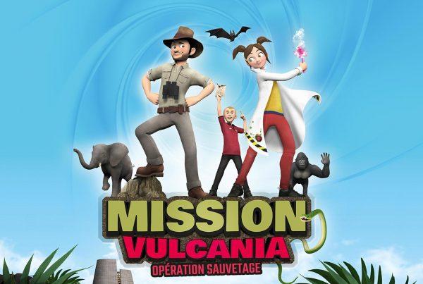 Mission Vulcania Opération Sauvetage : nouveau film 'animation en 3D sur écran géant à Vulcania
