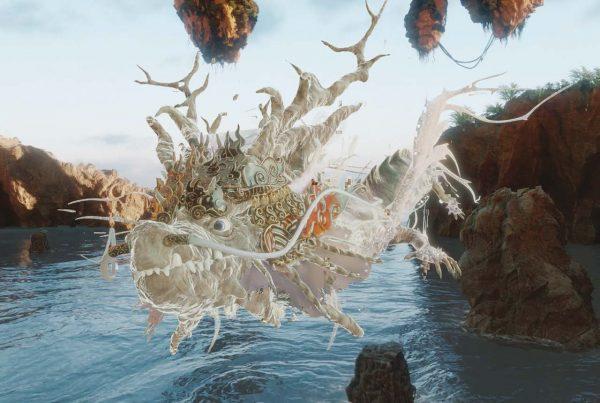 Dragon ride 2 : nouveauté 2020 au parc Vulcania en Auvergne