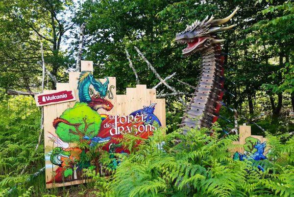 La Forêt des dragons : nouveauté 2020 au parc d'exploration Vulcania