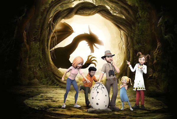 La Forêt des Dragons : nouvelle animation au parc Vulcania en Auvergne