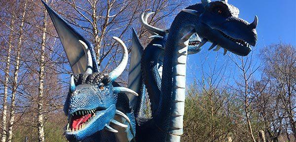 La Forêt des Dragons : nouveauté 2020 au parc Vulcania en Auvergne