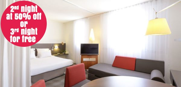 Good deals for your holidays at Vulcania in Auvergne : second night at 50% off or third night for free !