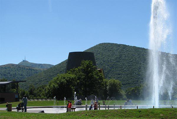 Politique environnementale du parc d'exploration Vulcania