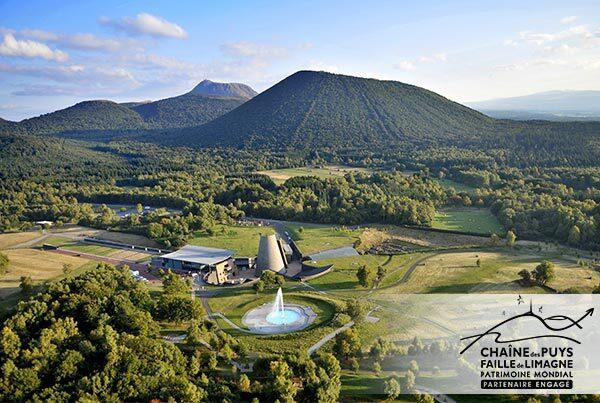 Le Parc Vulcania est Partenaire engagé auprès de l'UNESCO pour l'ensemble Chaîne des Puys - Faille de Limagne