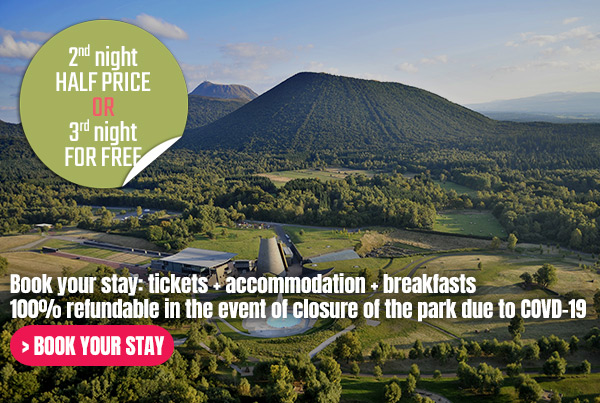 Book your stay: tickets + accomodation + breakfast. 100% refundable in the event of closure of the park due to COVID-19